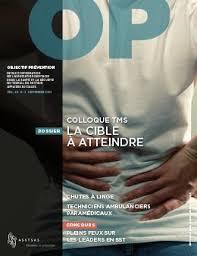 Couverture de la revue OP